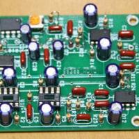 Audio Filter基板製作