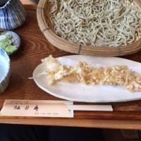 神奈川県川崎市 川崎大師にちかいお蕎麦屋さん 松月庵の天せいろとくず餅