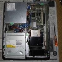 恒例の??パソコンの内部の掃除
