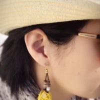 【香るアクセサリー】香珠codama〜世界でたった1つのアロマイヤリング〜精油付き♪日本を超えて…
