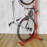 室内用縦置き自転車スタンドサイクルロッカー クランクストッパースタンド