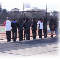 春の陽気に包まれて~女子テニス部の健闘