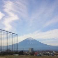 初・富士山♪