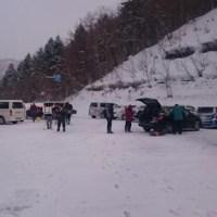 地獄の急斜面 ~ 札幌湖でワカサギ釣り