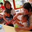7月20日 とらのこ保育園の子育て支援で、ママの日本茶教室
