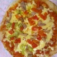 自宅のフライパンで簡単にピザを焼こう♪