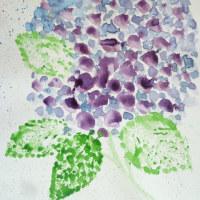水彩画です・・・  (手作り器ギャラリー オープンガーデンG20)