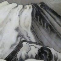 まくり 富嶽図と海 小松均筆 その6&7