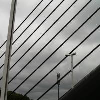 学園前駅から石山まで徒歩往復その5ミュンヘン大橋