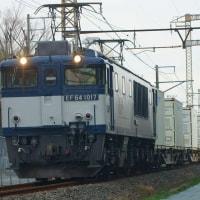 2017年2月23日  新金貨物線   EF64-1017 1094レ