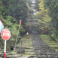 平泉寺白山神社へ