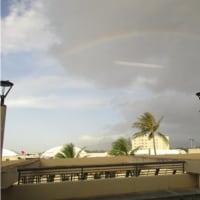 ハワイで虹