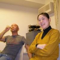 アスリートと男の料理で新年会
