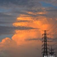 琉球大田焼窯元☆うるま市大田の夕焼け 幸春撮影