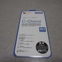 iPhone用 NEWLOGIC  C-Glass 0.2 mm 保護ガラス