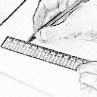 定規で線を引くとインクが・・《教えてQ》