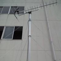 今日は、広島市西区へ地デジBSCSアンテナ工事にお伺いしました~(^^♪