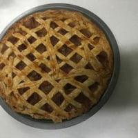 アップルパイを作りました。