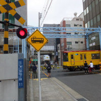 日本唯一の地下鉄の踏切を見てきました