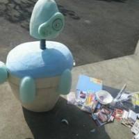壊れたロボット兵 作ります。