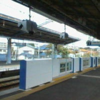 三浦海岸駅で
