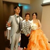 孫の結婚式