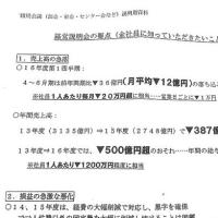 [動画] 朝日新聞「3年で500億円減収」