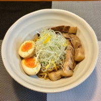 魚介醤油まぜ麺