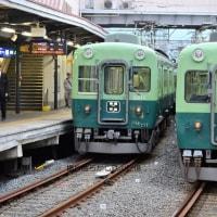 京阪 中書島(2012.6.12) 旧塗装2815、2820並び