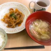 お昼ごはんも食べて、元気に活動。
