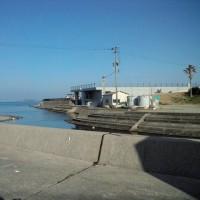 世界遺産・軍艦島を望む