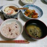 敬老の日の夕食