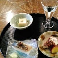勝山町 酒蔵でお洒落なランチ。
