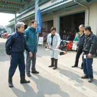 「春の農機展示会」が開催されました。