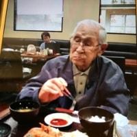 蕎麦処ないとう 104歳の父と外食