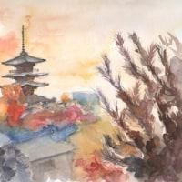 誰にでも描ける水彩画&絵手紙教室 (京都)