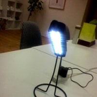 LEDライト完成