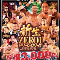 [結果・ZERO1・後楽園、火祭り、稲葉、宮本、LEONA、Sタイガー、拳王]6/22(木)ZERO1 後楽園