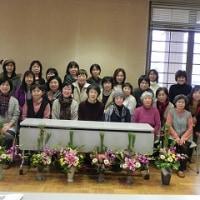 平成28年⒓月度 花のある暮らしの会