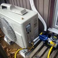 エアコン設置 DIY
