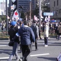 3月11日の高校校門前ビラまきと反原発行動