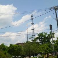 旧NHK東塔の解体が始まる・・・