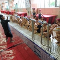 1年生水泳学習
