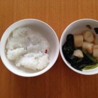 今日の離乳食(昼御飯)【107日目】