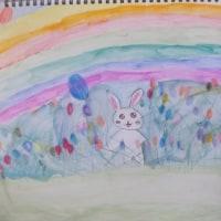 虹とうさぎ・・・・