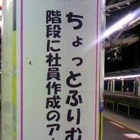 小田原駅のホームにて