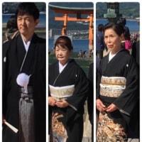 厳島神社挙式 〜 石亭 食事会 ✨