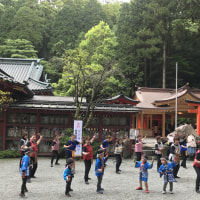 九頭龍神社本宮例祭に併せ記念事業の竣功奉告祭が斎行されました。