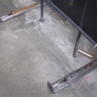 コンクリート打設しました。