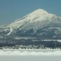 今日の磐梯山